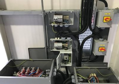 Industrial power services installation