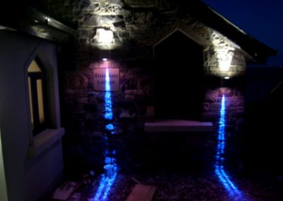 Architectural external lighting installation