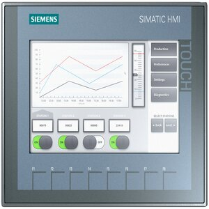 Siemens KTP 700 Colour Touch Screen 7 inch TFT Display
