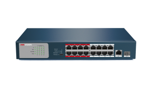 Hikvision 16-Port Gigabit Unmanaged PoE Switch