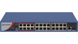 Hikvision 24-Port Gigabit Unmanaged PoE Switch