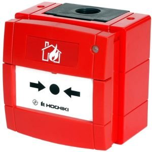 Hochiki Weatherproof Manual Call Point with Short Circuit Isolator