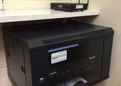 GAA club P.A/audio system installation