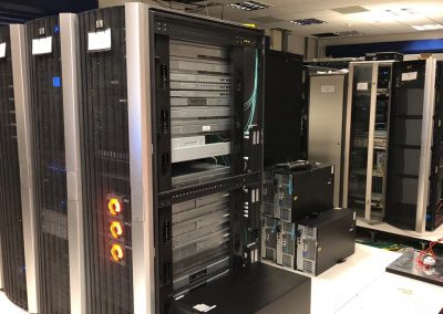 Server room alterations and modifications