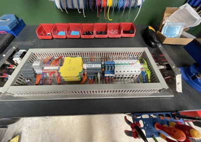 Industrial electrical control system manufacture